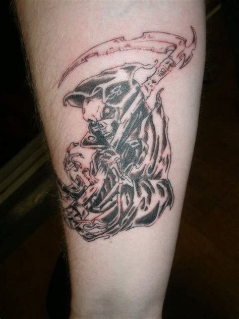 grand reaper tattoos grim reaper graveyard images
