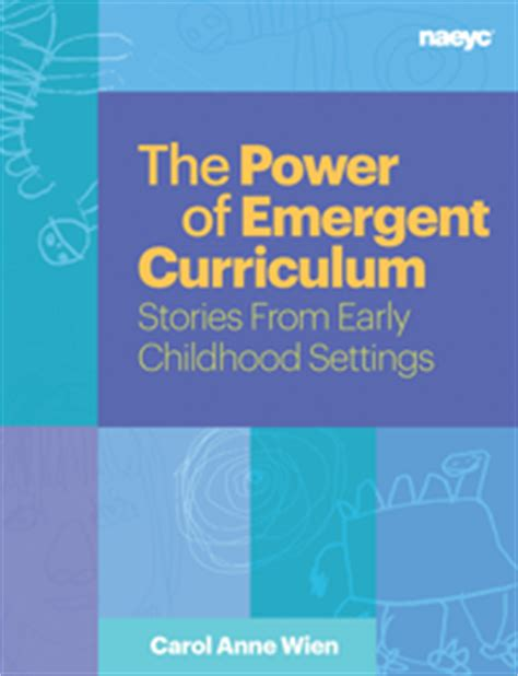 emergent curriculum in early childhood settings from theory to practice second edition books transforming our learning environment into a space of