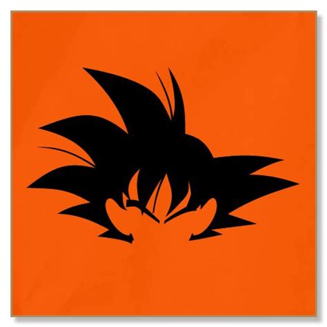 dragonball z goku silhouette fridge magnet india 500x500