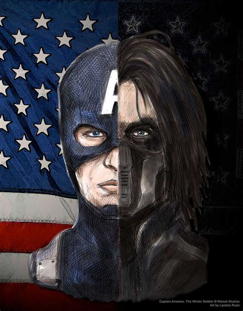 Captain Barnes Captain America The Winter Soldier By N City On Deviantart