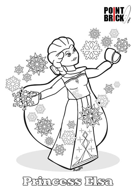 coloring pages lego frozen disegni da colorare lego disney princess frozen princess