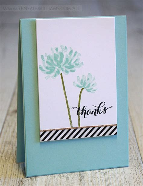 Handmade Thank You Card Designs - 8 ideas for an special handmade thank you card