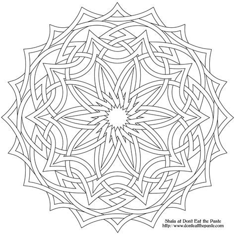 Free Printable Mandala Coloring Pages High Resolution Colored Transparent Sheets