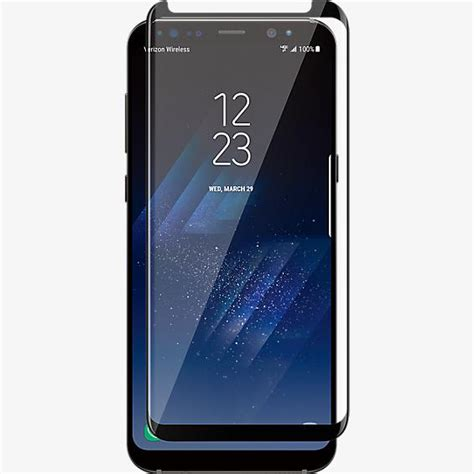Samsung Screen Protector Galaxy S8 verizon curved tempered glass screen protector for galaxy