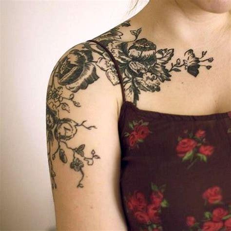 Flower Sleeve Tattoos Tumblr 187 Tattoosideen Com Black Flower Sleeve