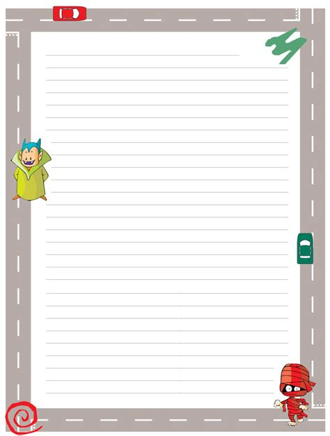 border writing paper printable free 8 best images of free printable writing borders free