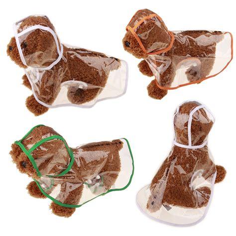golden retriever puppy coat change transparent raincoat for small dogs waterproof suit pet coat golden retriever