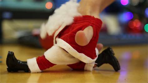 finger dancing santa merry christmas greeting youtube