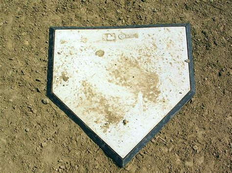 home plate bleeding yankee blue where is the real home plate