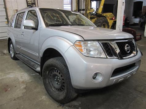 2008 nissan pathfinder parts parting out 2008 nissan pathfinder stock 140012 tom