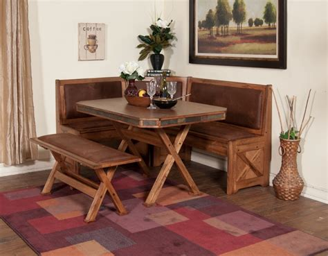 bench style kitchen table sets dinettes dining tables wood glass tops kays