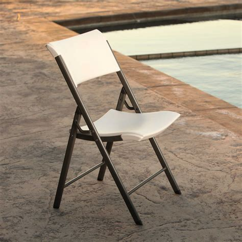 Lifetime Folding Chairs by Lifetime 80372 Almond 34 Pack Folding Chair On Sale With
