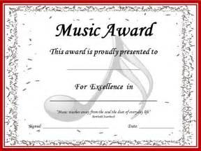 Award certificates music awards and music on pinterest