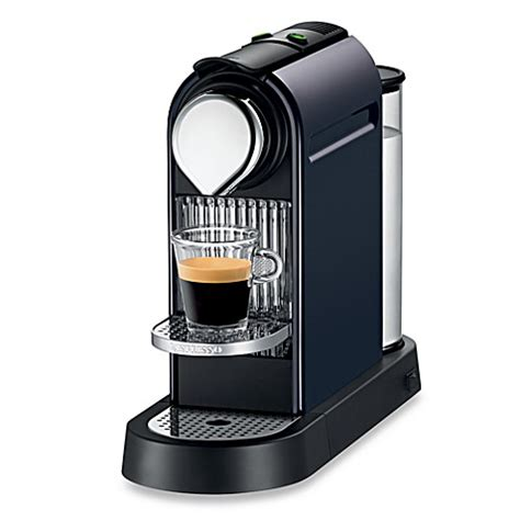 bed bath and beyond nespresso nespresso 174 citiz automatic espresso machine steel gray