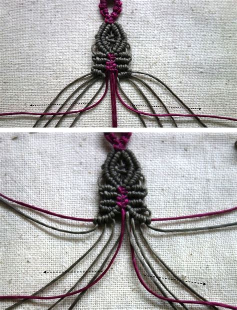 Hemp Braid Patterns - 603 best macrame tutorial images on
