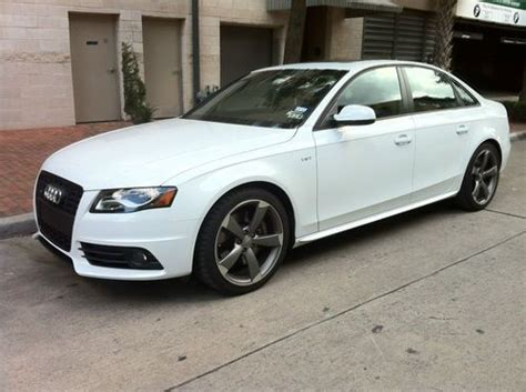 how to sell used cars 2012 audi s4 on board diagnostic system find used 2012 audi s4 prestige titanium package 4 door 3 0l in houston texas united states