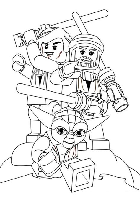 Get This Free Lego Star Wars Coloring Pages To Print 89529 Lego Wars Coloring Pages To Print