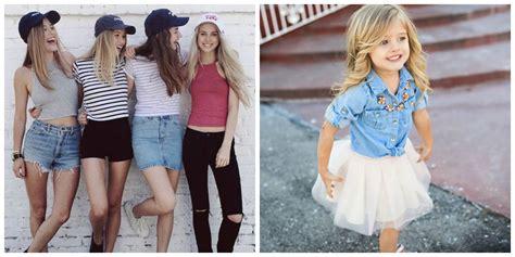 para las chicas es indispensables tener una moda exclusiva para moda de chicas 2018 tendencias de moda y vestidos para ni 241 as