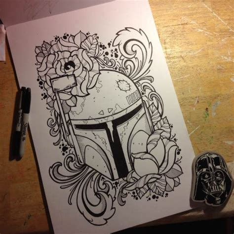 boba fett tattoo designs boba fett design by mullin tattoos but