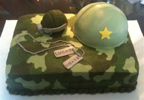 army camo cake cakes frosting decorating