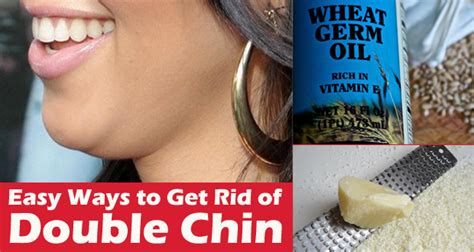 how to get rid of a double chin cure for sure chin home remedies for double chin how to get rid of