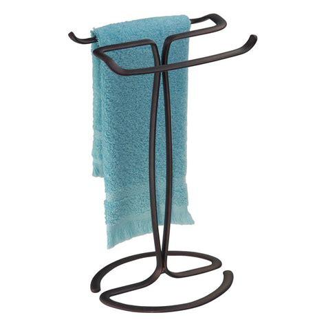 bronze bathroom towel holder