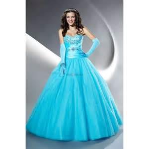 Sweetheart beading draped sky blue taffeta long prom dress thisnext
