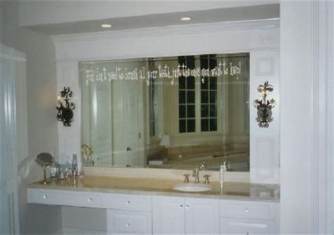 bathroom mirror decals xpresivdesigns vinyl wall lettering bathroom mirror