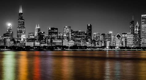 chicago colors the gallery for gt chicago black and white with color
