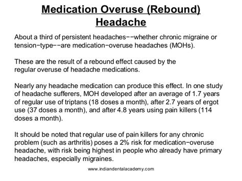Detox From Rebound Headaches by Sumatriptan Rebound Migraine