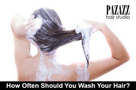 how often should you wash your hair slide 1 blog
