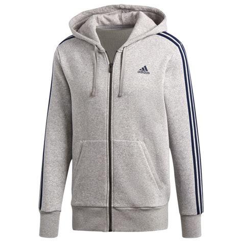 Adidas Essentials 3 Stripes Grey Original sweatshirt adidas essentials 3 stripes fitness clothing