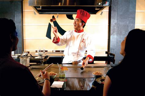 The Chef S Table by Benihana Restaurant Teppanyaki Style Cuisine Benihana