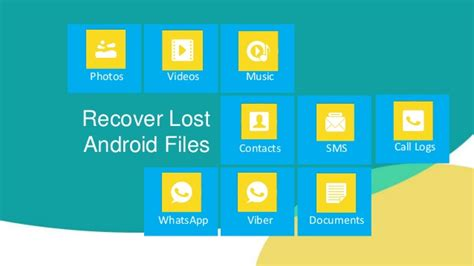 lost pictures on android how to recover deleted lost files from android phone free