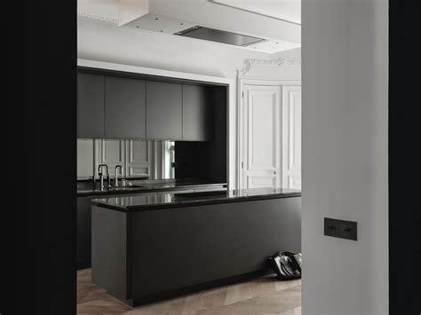 Pure Kitchen Design Meets Classic Architecture