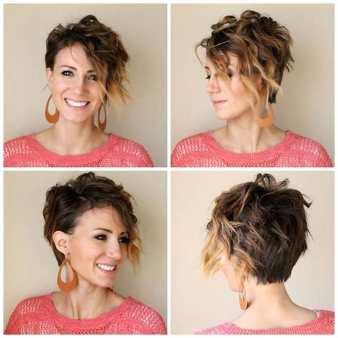 long pixie cut tutorial how to curl a long pixie tutorial hair pinterest