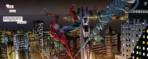 swinging in york when worlds collide spider men 1 review objection network