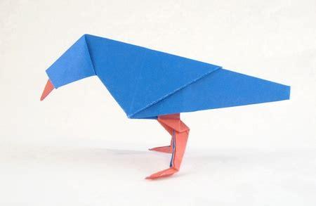 Origami Of Bird - bird jun maekawa gilad s origami page