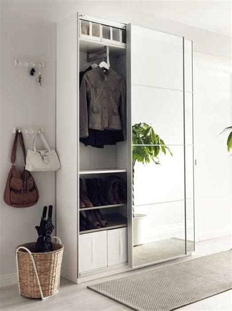 ikea entryway closet the 25 best ikea wardrobes sliding doors ideas on