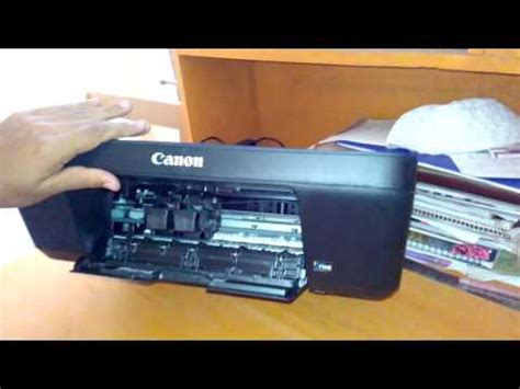 resetter canon pixma e400 how to replace change open ink cartridge from canon pixma