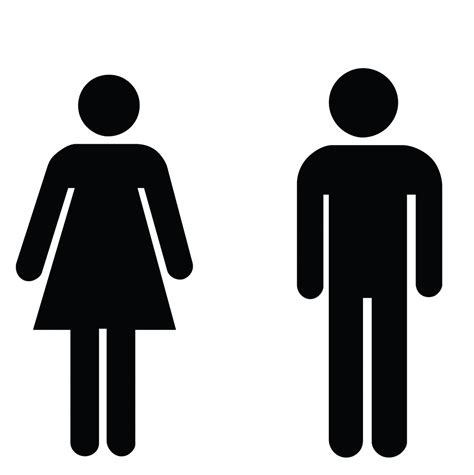 bathroom sign person mens restroom symbol clipart best