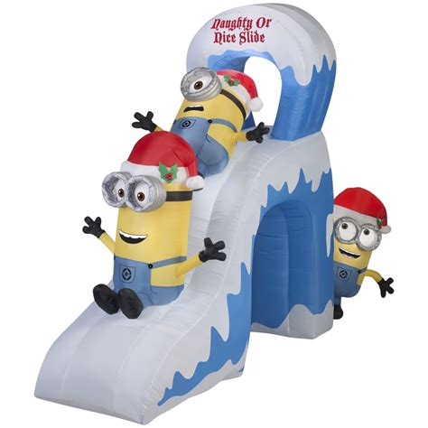 2015 Minions Despicable Me Playing On Slide Airblown Inflatables