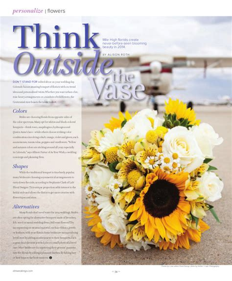 floral design magazine video love letters floral design featured in the 2014 spring