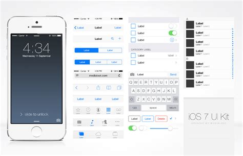 how to get the flat ui ios 7 instagram app on android free ios ui kit medialoot