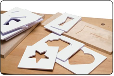 inlay kits templates