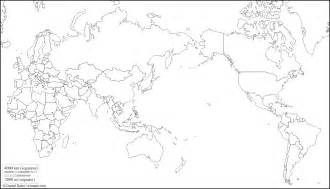 World Map Outline With States by World Pacific Centered Free Map Free Blank Map Free Outline Map Free Base Map