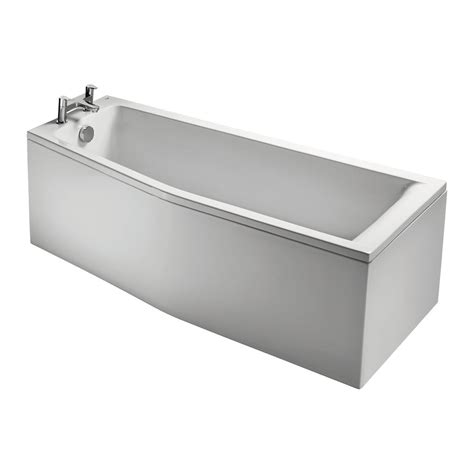 space saving bathroom product details e0499 170cm space saver bath left hand ideal standard