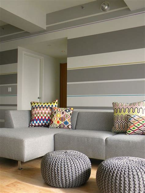 living room striped wallpaper 1000 ideas about striped walls horizontal on room paint designs striped walls and