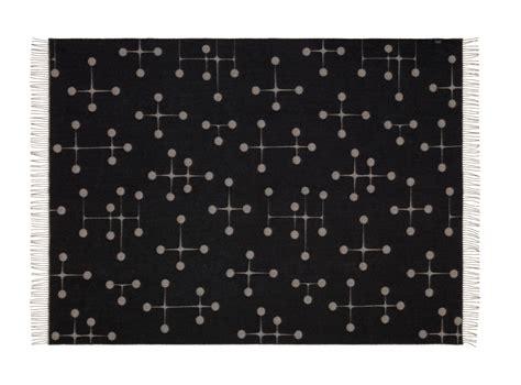 eames dot pattern history merino wool blankets from vitra design milk