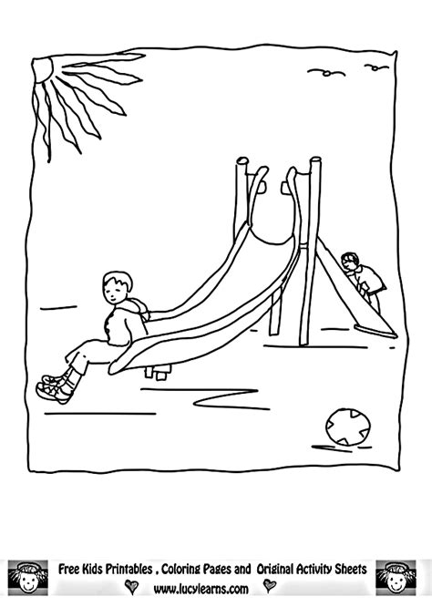 coloring pages of water slides water slide coloring page coloring home